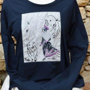 T shirt femme coton